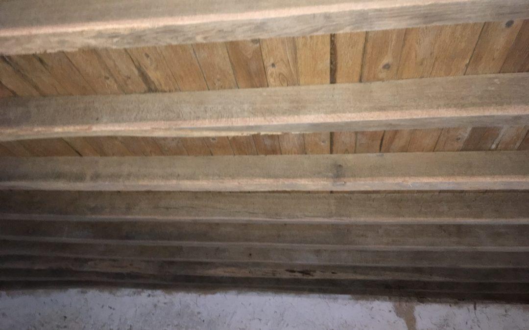 AEROGOMMAGE /SABLAGE poutres en Sarthe